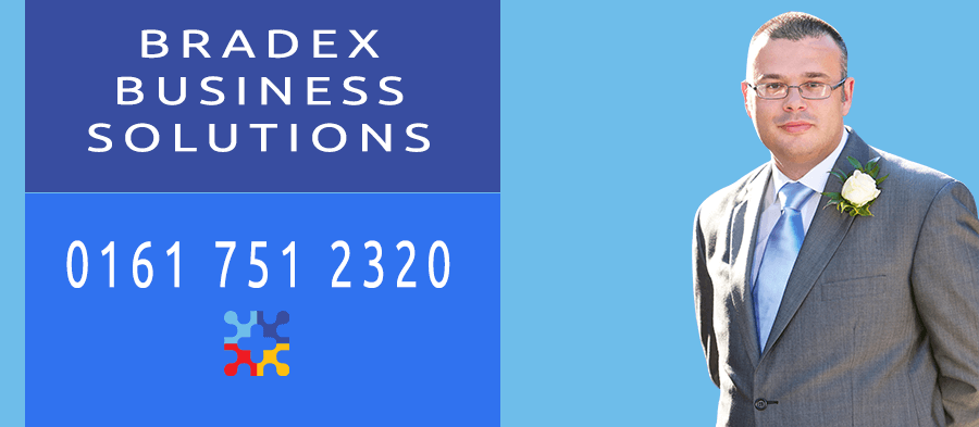 Bradex Business Solutions Mobile Header