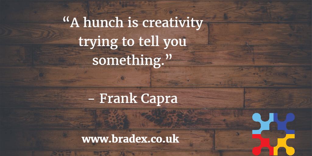 Hunch & Creativity