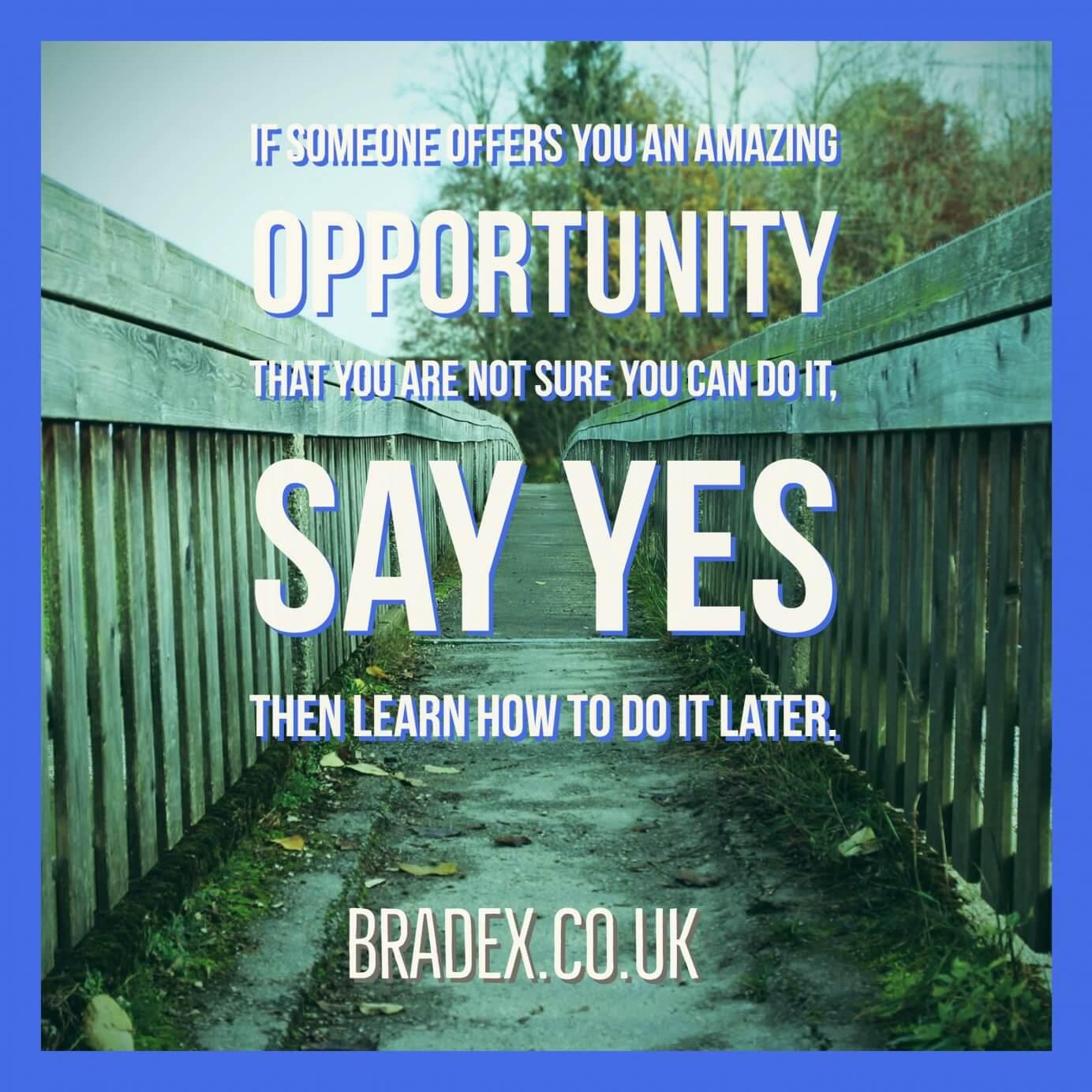 Richard Branson Say Yes