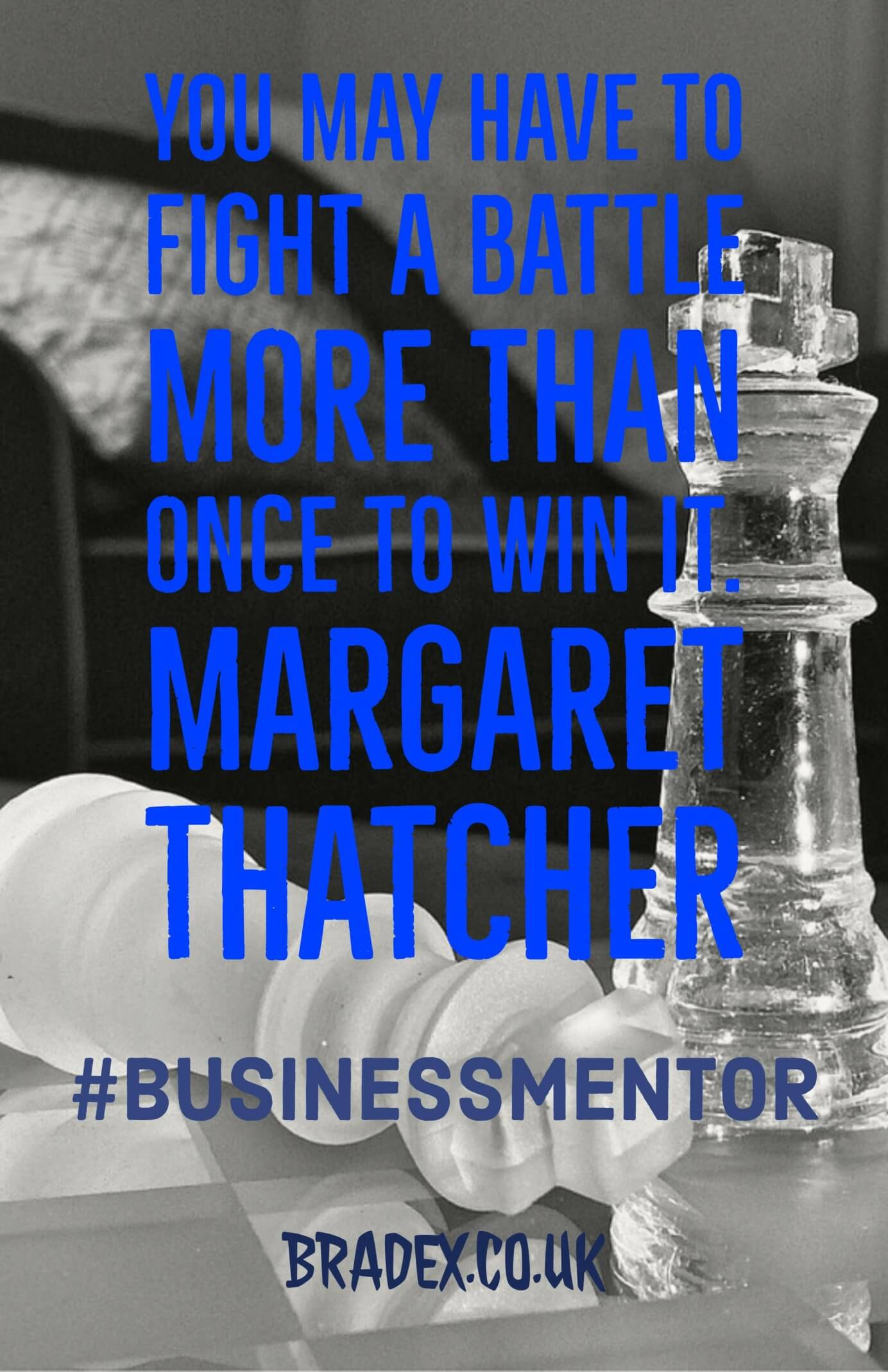 #business mentor battle to win
