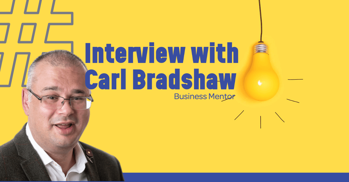 Carl Bradshaw Business Mentor